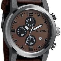 New Nixon A315-562 the Ride Men's Brown Watch Photo