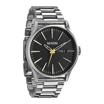 New Nixon A356-1227 the Sentry Ss Silver Men's Watch Photo