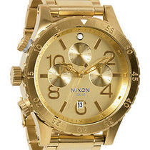 New Nixon A486-502 All Gold Mens Watch Photo