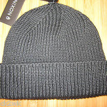 New Nixon Beanie Cap Hat Mens Osfa S M L Cuffed Warden Black Photo