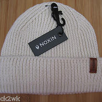 New Nixon Beanie Cap Hat Mens Osfa S M L Cuffed Warden Ivory Photo