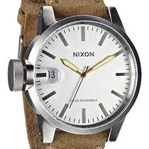 New Nixon Men's A127-1061 Desert Suede Watch Photo