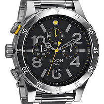 New Nixon Men's A486-000 Black Watch Photo