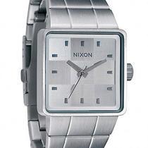 New Nixon Men's Quatro Watch Quartz Wristwatch White Photo