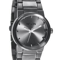 New Nixon Men's the Cannon Watch Quartz Wristwatch Grey Photo