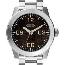 New Nixon Men's the Corporal Ss Watch Men's Wristwatch Silver Photo