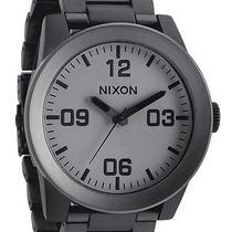 New Nixon Men's the Corporal Ss Watch Quartz Wristwatch Black Photo
