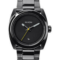 New Nixon Men's the Kingpin Watch Quartz Wristwatch Black Photo