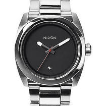 New Nixon Men's the Kingpin Watch Quartz Wristwatch Silver Photo