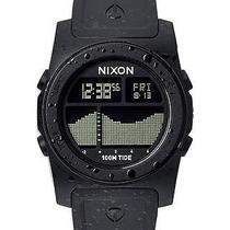 New Nixon Men's the Rhythm Tide Watch Stainless Steel Men's Wristwatch Black Photo