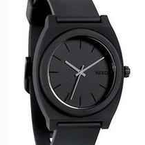 New Nixon Men's the Time Teller Plastic Watch Quartz Wristwatch Black Photo