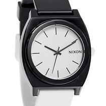 New Nixon Men's the Time Teller Pu Watch Quartz Wristwatch Black Photo