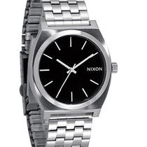 New Nixon Men's the Time Teller Watch Quartz Wristwatch Black Photo