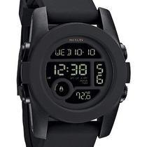 New Nixon Men's the Unit 40 Watch Rubber Wristwatch Black Photo