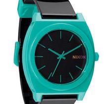 New Nixon Men's Time Teller P Watch Quartz Wristwatch Black Photo