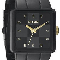 New Nixon the Quatro A013 1041 Matte Black God Men's Watch Photo