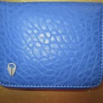 New Nixon Wallet Bifold Id Vegan Pu Faux Leather Blue Photo