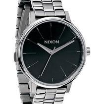 New Nixon Women's Kensington Watch Quartz Wristwatch Black Photo