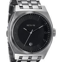 New Nixon Women's Monopoly Watch Quartz Wristwatch Black Photo