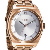 New Nixon Women's Monopoly Watch Quartz Wristwatch Gold Photo