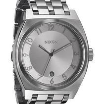 New Nixon Women's Monopoly Watch Quartz Wristwatch White Photo