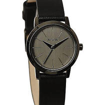 New Nixon Women's the Kenzie Leather Watch Women's Wristwatch Gold Photo