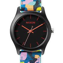 New Nixon Women's the Mod Acetate Watch Canvas Wristwatch Photo