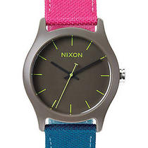 New Nixon Women's the Mod Acetate Watch Canvas Wristwatch Photo