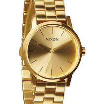 New Nixon Women's the Small Kensington Quartz Wristwatch Gold Photo
