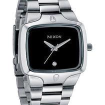New Nixon Women's the Small Player Watch Quartz Wristwatch Silver Photo