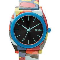 New Nixon Women's the Time Teller P Watch Quartz Wristwatch Photo