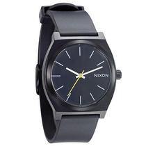 New Nixon Women's Time Teller Plastic Watch Quartz Wristwatch Black Photo
