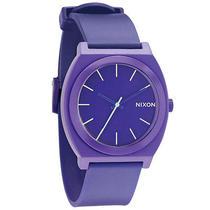 New Nixon Women's Time Teller Plastic Watch Womens Wristwatch Purple Photo