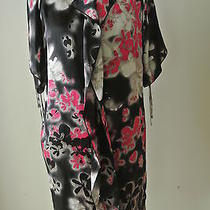 New/no tag.ladies Escada Multi Color Ruffle Front/open Top  of Sleeves  Dress34 Photo