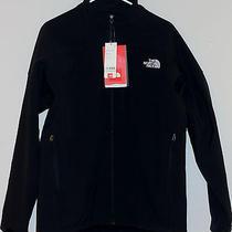 New North Face Men Apex Bionic Jacket Softshell Large Windproof Black/white Photo