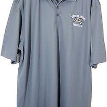 New Nwot Under Armour Heat Gear Gray Nau University S/s Polo Shirt 2xl Xxl Photo