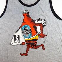 New Nwt Billabong Beer Bottle Surfer Surfboard Tank Top Tee T Shirt Sz Mens Xxl Photo