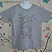 New Nwt Boy Element Graphic Print Heather Grey Shirt Sz6 Photo
