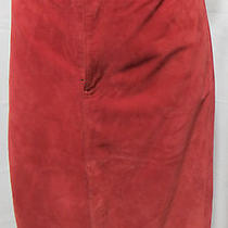 New Nwt Gap Skirt Womens Misses Size 10 Mahogany Leather Photo