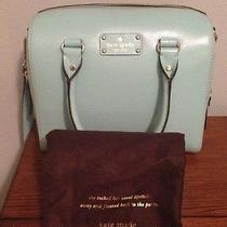 New Nwt Kate Spade Wellesley Alessa Leather Satchel Purse Bag Robinsegg (361) Photo