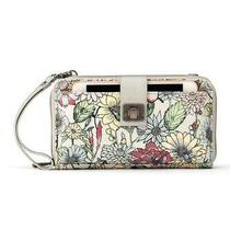 New Nwt Sakroots Artist Circle Blush in Bloom Floral Smartphone Crossbody Purse Photo