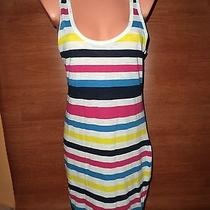 New Nwt Size 10 Women's French Connection Summer Stripe Tank Summer Dress   Photo