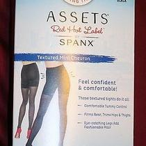 New Nwt Spanx Assets Red Hot Label Slimming Shaping Tights 3 C 22 Black  Photo