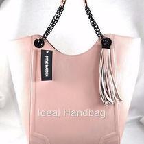 New Nwt Steve Madden Mila Pink Blush Tote Bag Photo