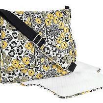 New Nwt Vera Bradley Messenger Baby Diaper Bag in Go Wild Photo