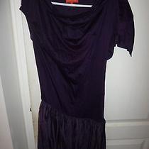 New Nwt Vivienne Westwood Red Label Purple Asymmetrical Mini Dress Japan Size S  Photo