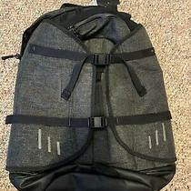New Oakley Blackout Black Gray Aero Pack Cycling Backpack Ergonomic Reflective Photo