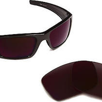 New Oakley Fuel Cell Brown Interchangeable Replacement Polycarbonate Lenses Photo
