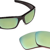 New Oakley Fuel Cell Polarized Green Mirror Replacement Polycarbonate Lenses Photo