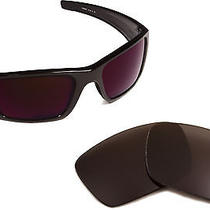 New Oakley Fuel Cell Polarized Grey Replacement Polycarbonate Seek Lenses Photo